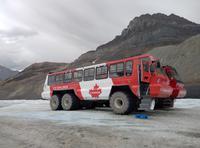 Athabasca Glacier Snowcoach- unser Gletscherfahrzeug