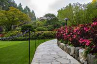 Vancouver Island – The Butchart Gardens, Sunken Garden