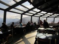 Frühstück auf dem Sulphur Mountain