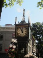 Clock Tower in Vancouver
