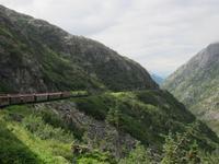 Fahrt mit dem White Pass Zug