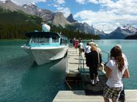 Bootsfahrt auf dem Maligne Lake