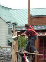Lumberjack-Show in Ketchikan