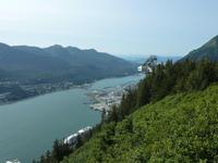 Der Hafen von Juneau
