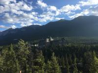 Banff-Nationalpark - Blick zum Banff Springs Hotel