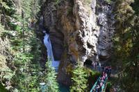 Banff-Nationalpark - Johnston Canyon