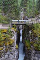Erkundungen im Jasper-Nationalpark - Spaziergang durch den Maligne Canyon