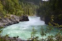 Auf dem Yellowhead Highway von Jasper nach Prince George - Abstecher zu den Overlander Falls