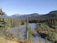 Stopp im Nationalpark von Banff