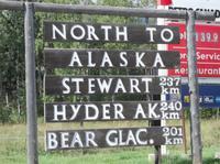 Auf dem Weg nach Alaska