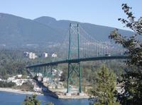 Die Lion's Bridge in Vancouver