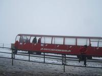 Brienz, Fahrt mit der Rothornbahn - in den Schnee am 10.07.