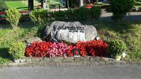 Flüeli-Ranft (Gedenkstein für Papst Johannes Paul II.)