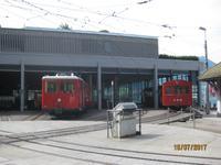 Vitznau - Talstation der Rigi Zahnradbahn