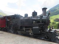 Fahrt mit der Furka-Dampfbahn