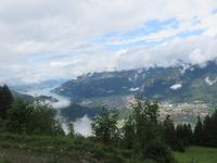 Fahrt mit der Bahn auf die Schynige Platte - Blick nach Interlaken