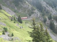 Fahrt mit der Bahn auf die Schynige Platte -