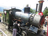 Fahrt mit der Dampfbahn auf die Rigi