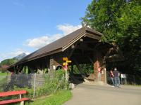 Holzbrücke in Flüeli