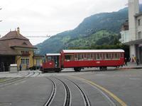 Führung im Depot der Rigi-Bahn