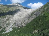 Blick zum Rhonegletscher