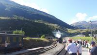 Realp (Bahnhof der Furka-Dampfbahn)
