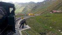 Brienzer Rothorn, Fahrt mit der Dampfbahn