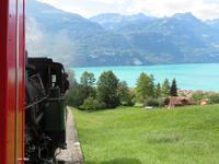 Fahrt mit der Brienzer Rothornbahn