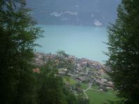 Blick auf Brienz am Brienzer See