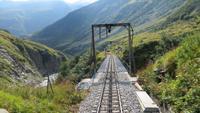 091 Fahrt mit der Furka-Dampfbahn