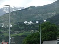 Wallis. Satellitenstation