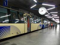 Fahrt mit der Centovalli- Bahn