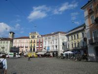 Locarno, unser Hotel ist am Piazza Grande