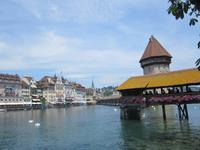Pause in Luzern, Kapellbrücke