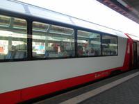 Bahnhof in Chur (Fahrt mit dem Glacier-Express nach Zermatt)