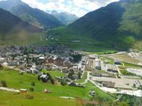 Fahrt mit dem Glacier-Express (Andermatt)