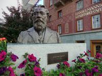 Johannes Badrutt legte den Grundstein für den Wintertourismus in St. Moritz