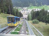 Die Schatzalpbahn in Davos