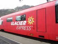 Fahrt mit dem Glacier Express von Filisur bis Zermatt