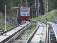 Fahrt mit der Parsennbahn