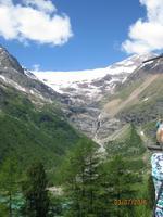 Der Palü Gletscher