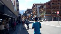 Zermatt, Bummel entlang der Bahnhofstraße