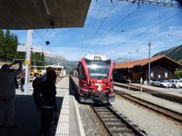 Der Bernina-Express nach Tirano
