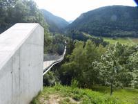 Die neue Bellwald-Hängebrücke