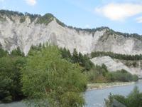 Fahrt mit dem Glacier-Express - die Rheinschlucht