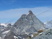 Zermatt - Ausflug auf das Kleine Matterhorn - Blick zum Matterhorn