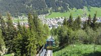 Schatzalpbahn -Blick auf Davos