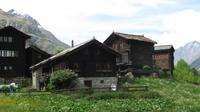 Wanderung von Furi nach Zermatt - Ortsteil Blatten