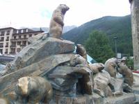Murmeltierbrunnen