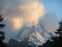 Abendstimmung am Matterhorn